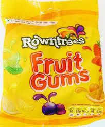 Fruit gum bags