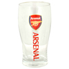Arsenal Word mark pint glass