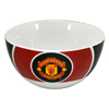 Man U bullseye cereal bowl