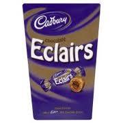 Chocolate eclair carton