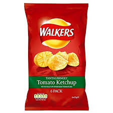 Tomato ketchup walkers