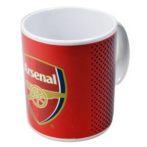 Arsenal Fade Mug 11oz