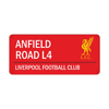 Liverpool coloured Sign
