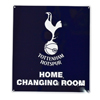 Tottenham changing room sign