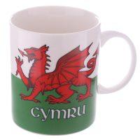 Wales Bone China Mug