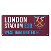 West Ham Color Sign
