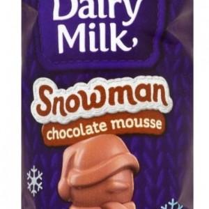Cadbury Mousse Snowman