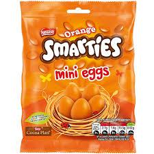 Orange mini eggs